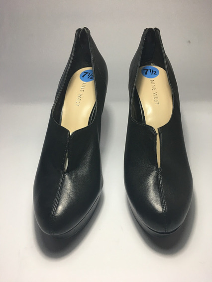 Zapato Tacón Damas Botin Mujer Nine West Talla 3 Méx Nuevo
