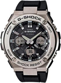 Relógio Casio Pulseira De Resina, 26.8(modelo: Gst-s110-1acr
