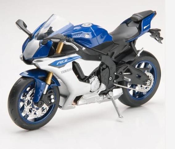 Miniatura Moto Yamaha Yzf-r1 2015 Salvat