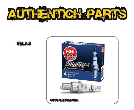 Jogo De Velas Ngk Iridium Ford Ka 1.0 Zetec Flex 08 Em Diant