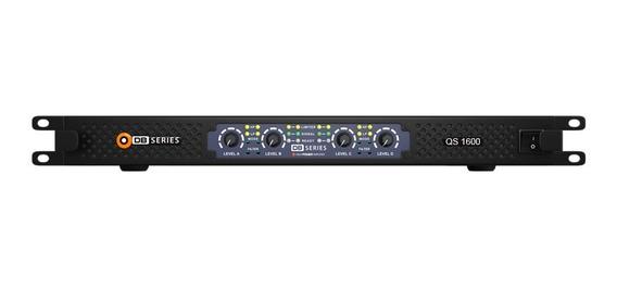 Amplificador Db Series Qs 1600 Slim 1600w Rms 4ch Bivolt Nfe
