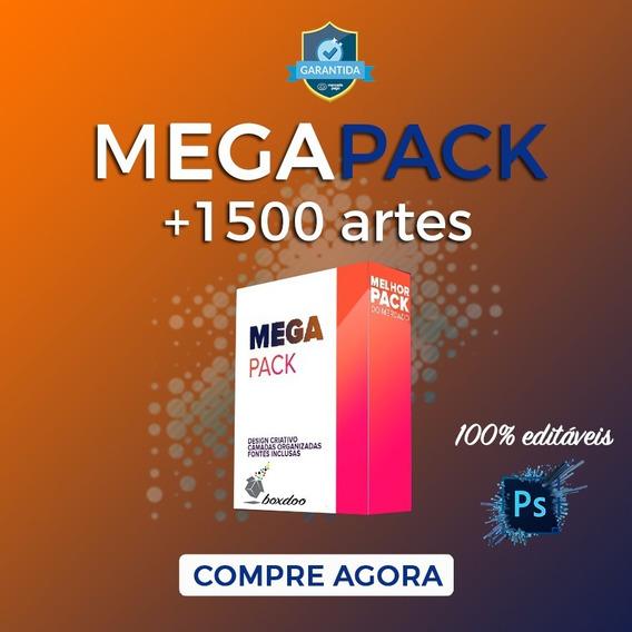 Pack 1500-artes Social Media Editávies Photoshop