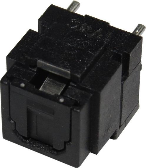 Kit 5 -conector Óptico 3 Terminais 180° / 1v4c / 3707-001096