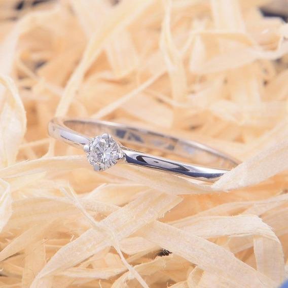Solitário Diamante 10 Pontos