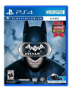 Batman Arkham Vr Playstation 4