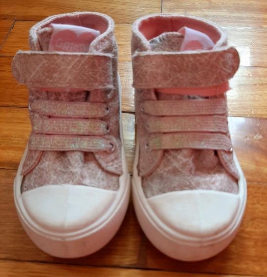 Vendo Zapatillas Tipo Botita Grisino Nena Talle 22