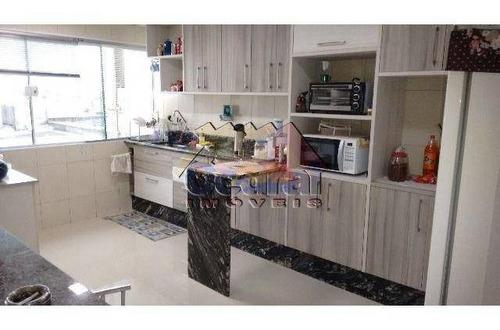 Sobrado Com 3 Dormitórios À Venda, 222 M² Por R$ 650.000,00 - Mogi Moderno - Mogi Das Cruzes/sp - So0088