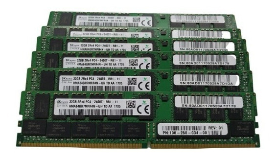 Memoria Server Ddr4 2400 32gb 2rx4 Pc4-2400t (1x32bg) Bulk