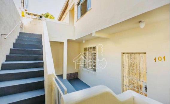 Casa Com 3 Dormitórios À Venda, 80 M² Por R$ 185.000,00 - Santa Rosa - Niterói/rj - Ca1056