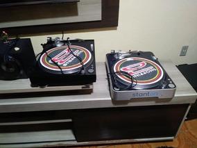 Par Toca Discos Stanton T50 B