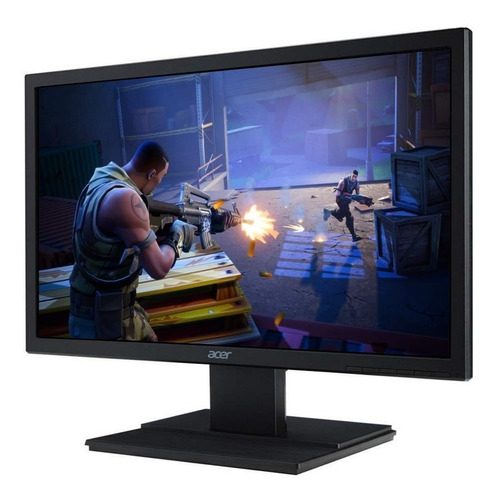 Monitor Acer Led 21,5 Full Hd 60hz Hdmi Dvi Vga Acer V226hql Novo Lacrado C/ Garantia