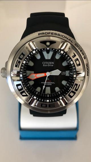 Relógio Citizen Ecozilla Professional Diver 300m Bj8050-08e