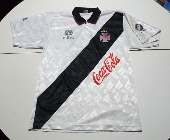 Camiseta De Vasco Da Gama Marca Finta #8
