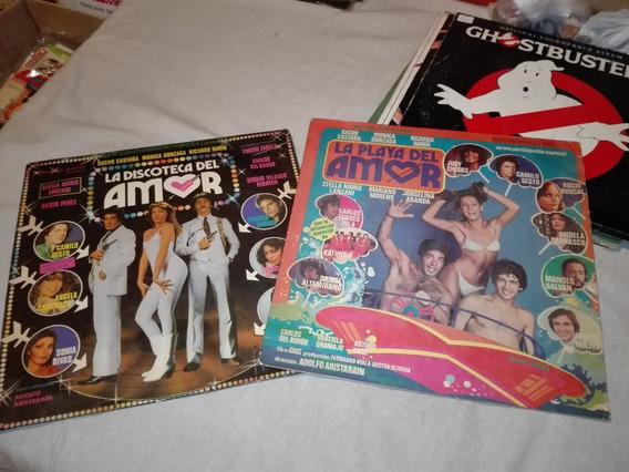 Discos La Playa Y La Discoteca Del Amor Cacho Castaña Gusx