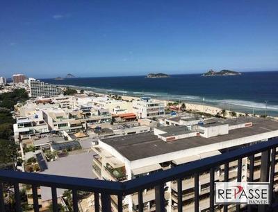 Apartamento Residencial Para Locação, Barra Da Tijuca, Rio De Janeiro. - Ap0837