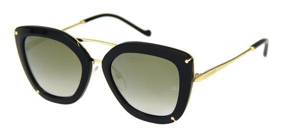 Óculos De Sol Ana Hickmann 3174 + Limpa Lentes