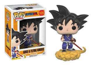 Figura Funko Pop Dragon Ball Z - Goku & Nimbus 109