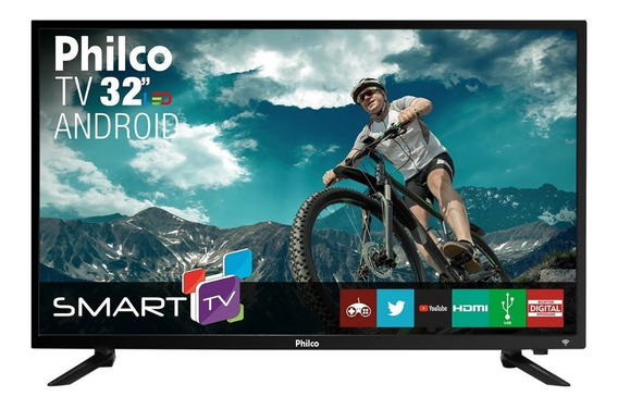 Smart Tv Led 32 Polegadas Philco Ptv32n87sa Hd