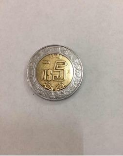 Moneda 5 Nuevos Pesos