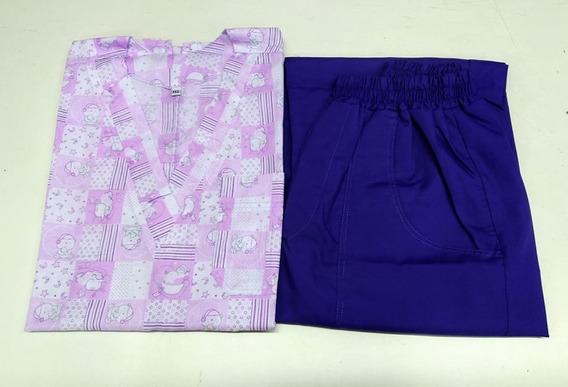 Ambo Mujer Chaqueta Estampada + Pantalon / Mod. Ositos