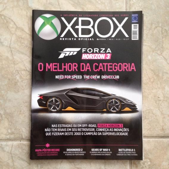 Revista Xbox N125 O Melhor Da Categoria Forza Horizon 3