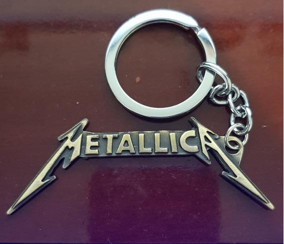 Chaveiro Metallica - Rock
