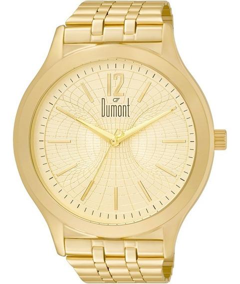 Relógio Dumont Masculino/feminino Slim Grande