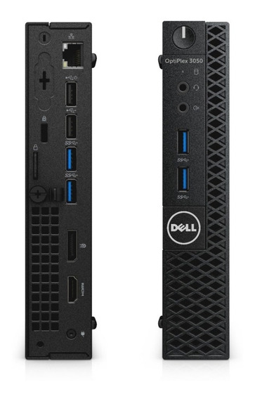 Mini Pc Dell 3050m I5-7500 7ª Ger Hd Ssd 240gb 8gb Memo Ddr4