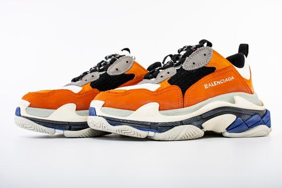 Championes Balenciaga Triple S Naranja