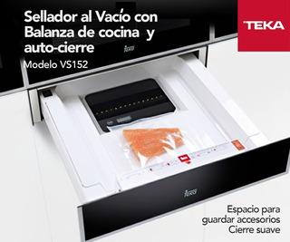 Sellador Al Vacio Teka Vs152 Inox 60cm