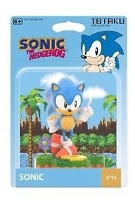 Figura Totaku #10 Sonic The Hedgehog Orangegameb Castelar