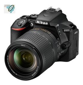 Nikon D5600 24.2mp Wi-fi, Lente Af-s 18-140mm Vr