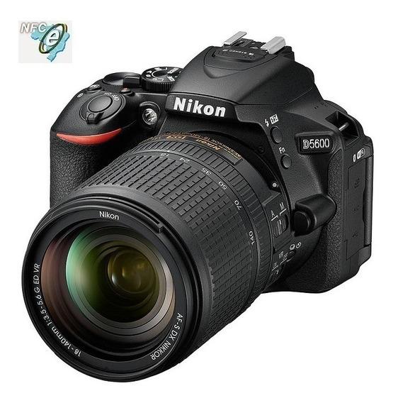 Nikon D5600 Com Lente Af-s 18-140mm Vr Nota Fiscal
