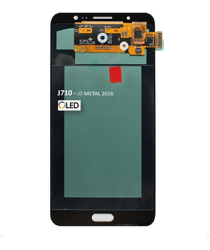Frontal Tela Touch Display J7 Metal J710 2016 Amoled E Pelic