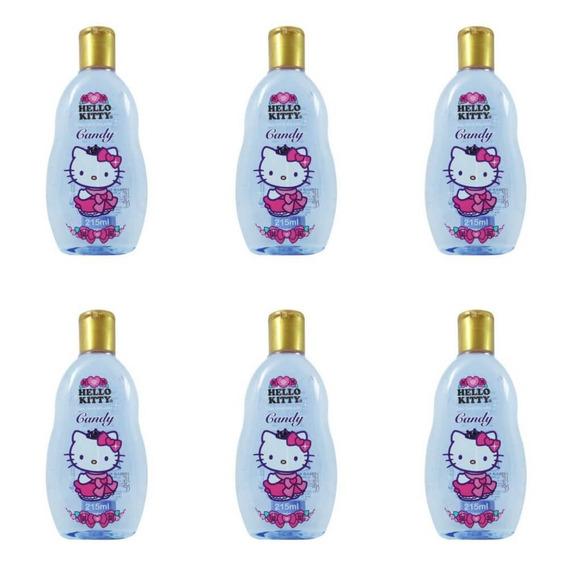 Betulla Hello Kitty Splash Candy Colônia 215ml (kit C/06)