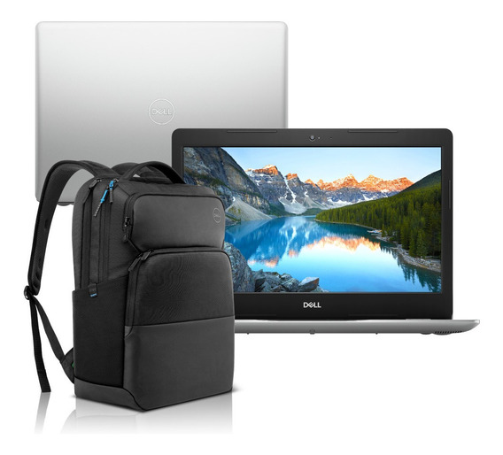 Notebook Dell 3480-m30bp Ci5 4gb 1tb W10 + Mochila Pro