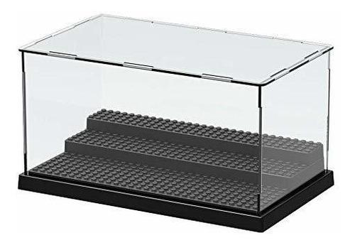 Caja De Exhibición De Plástico Transparente Sin Montar