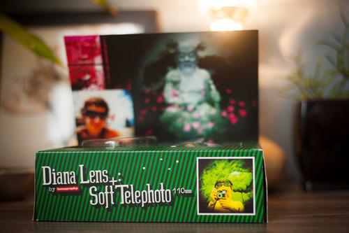 Lente Diana F+ 110mm Telephoto Lomo Lomography