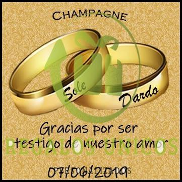 Souvenir Champagne Mumm Personalizado 30 Unid Envio Gratis