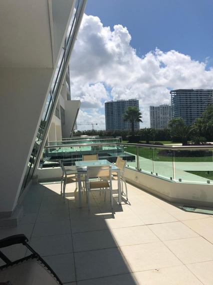 Pent Garden Amueblado En Novo Cancun