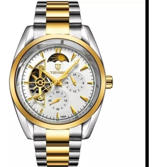 Relógio Masculino Tevise Barato Automático Original C.111