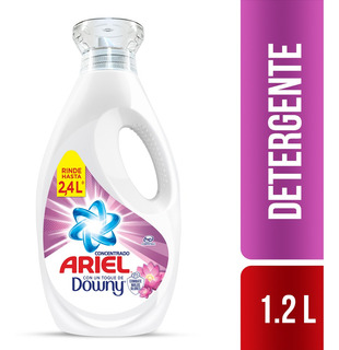 Detergente Liquido Concentrado Ariel Toque Downy 1.2lt