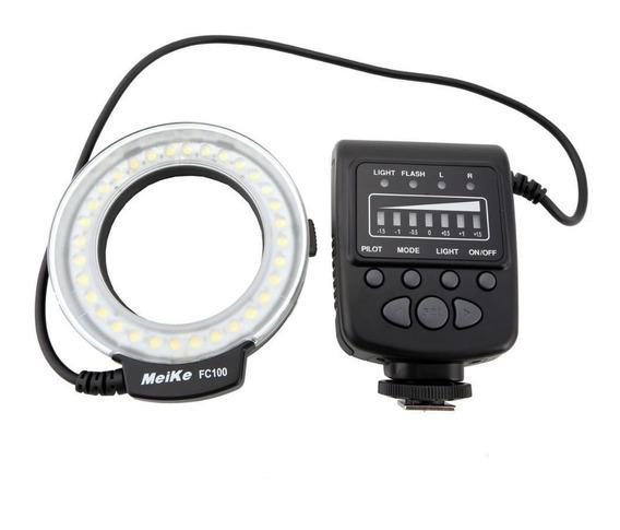 Iluminador E Flash Led Circular Fc100 - Nikon Canon Olympus