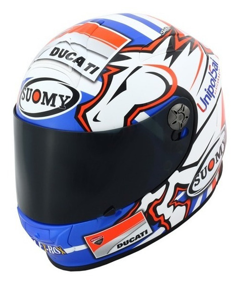 Capacete Suomy Sr Sport Dovizioso Ducati Motogp Brinde Boné