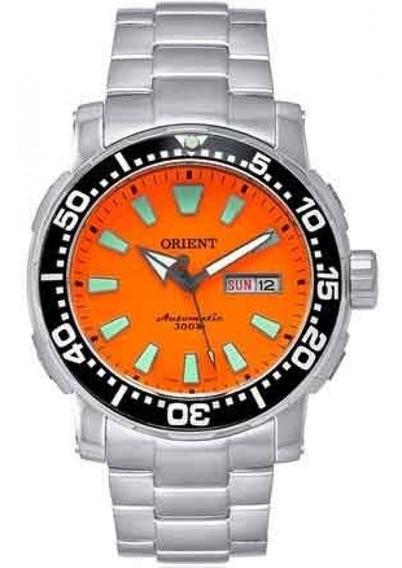 Relógio Orient Automático Poseidon 469ss040 Laranja