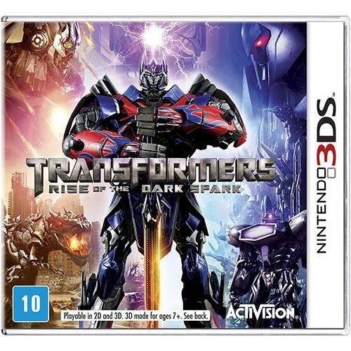 3ds Transformers: Rise Of The Dark Spark Novo Lacrado