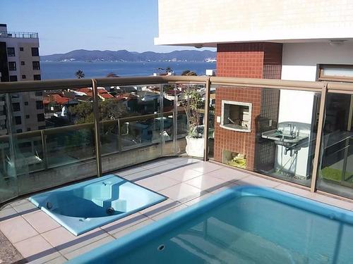 Imagem 1 de 29 de Linda Cobertura Duplex No Balneário Estreito - Co0406