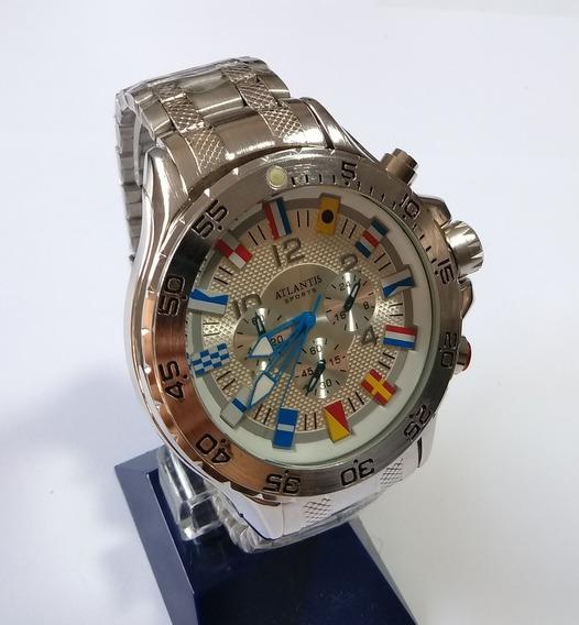 Relógio Masculino Atlantis Original G-3130 Frete Grátis
