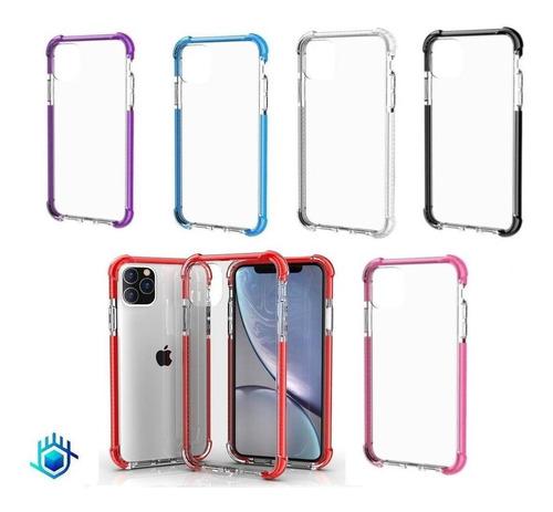 Funda Protector iPhone Rigido Uso Rudo Acrigel 360 Anticaida