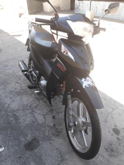 Moto Traxx Jl50q-8 Preta Com Só 763 Km Originais E Reais